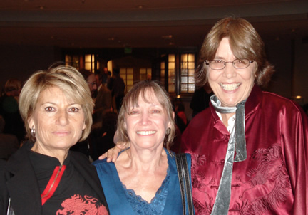 Francoise Gaillard, Mary Donaldon-Evans, Deborah Harter