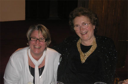 Sonya Stephens and Barbara Wright