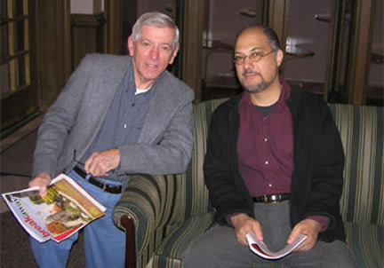Tom Goetz and Vaheed Ramazani
